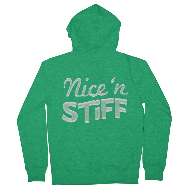 Nice'n Stiff Women's Zip-Up Hoody by Bots & Bits Realm of Merch