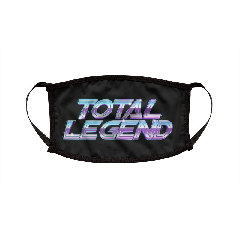 Total Legend 2088 Accessories Face Mask by Bots & Bits Realm of Merch