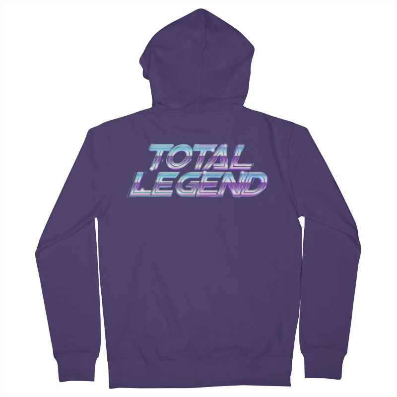 Total Legend 2088 Women's Zip-Up Hoody by Bots & Bits Realm of Merch