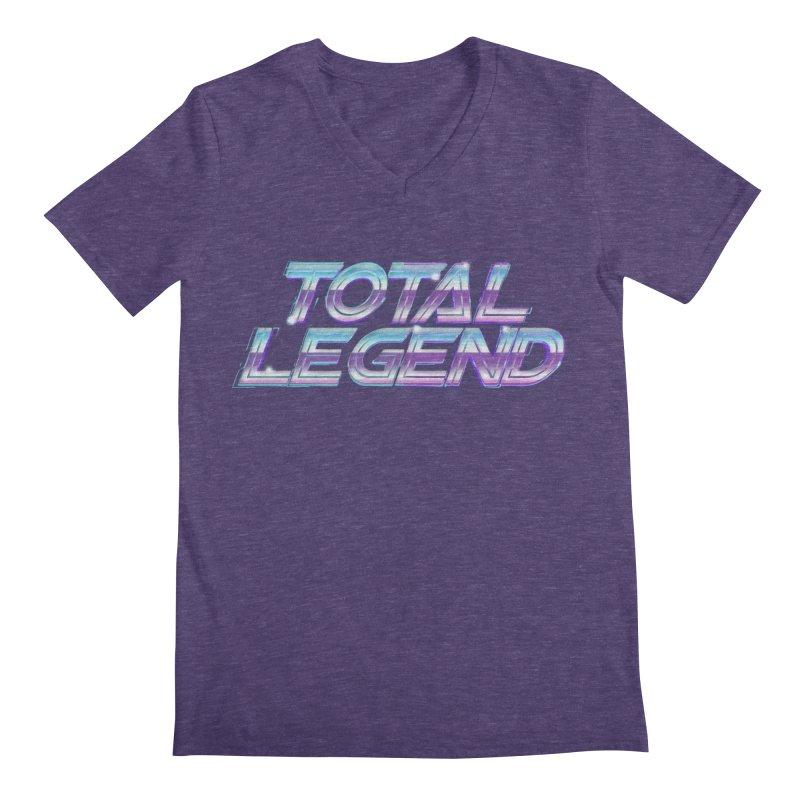 Total Legend 2088 Men's V-Neck by Bots & Bits Realm of Merch