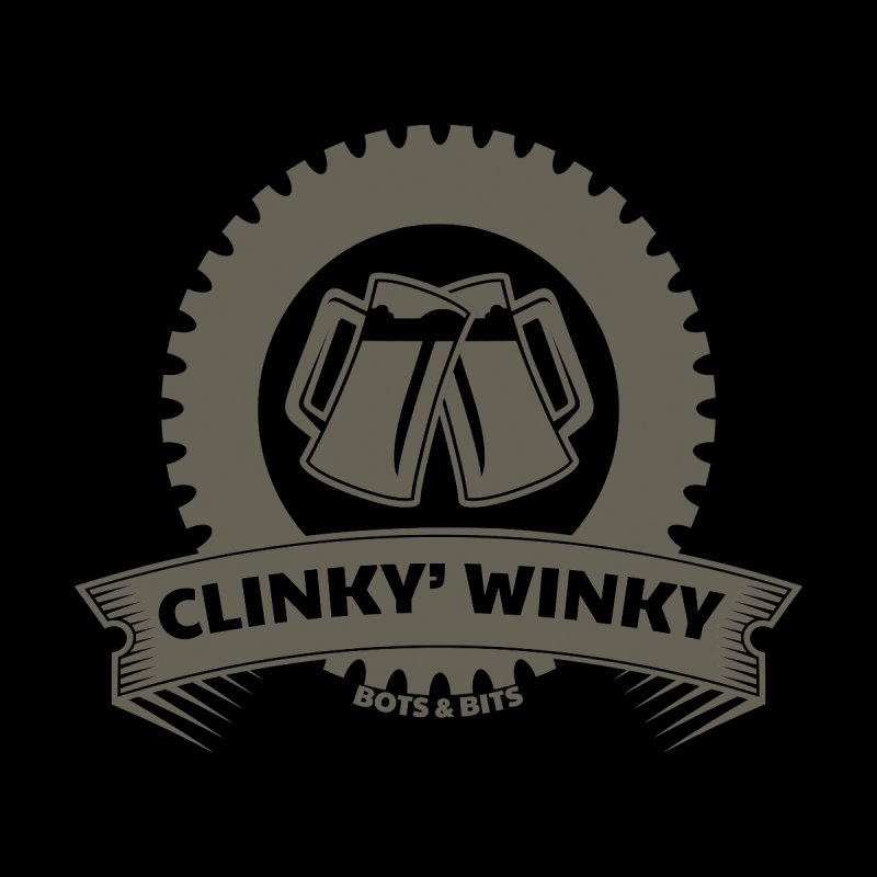 Clinky Winky Oktober Women's Scoop Neck by Bots & Bits Realm of Merch