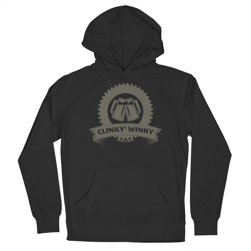 Clinky Winky Oktober Men's Pullover Hoody by Bots & Bits Realm of Merch