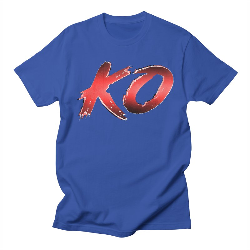 Street Fighter style KO Men's T-Shirt by Bots & Bits Realm of Merch