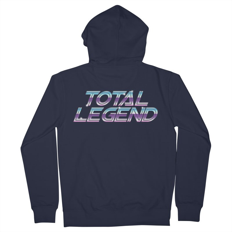 Total Legend Classic Women's Zip-Up Hoody by Bots & Bits Realm of Merch