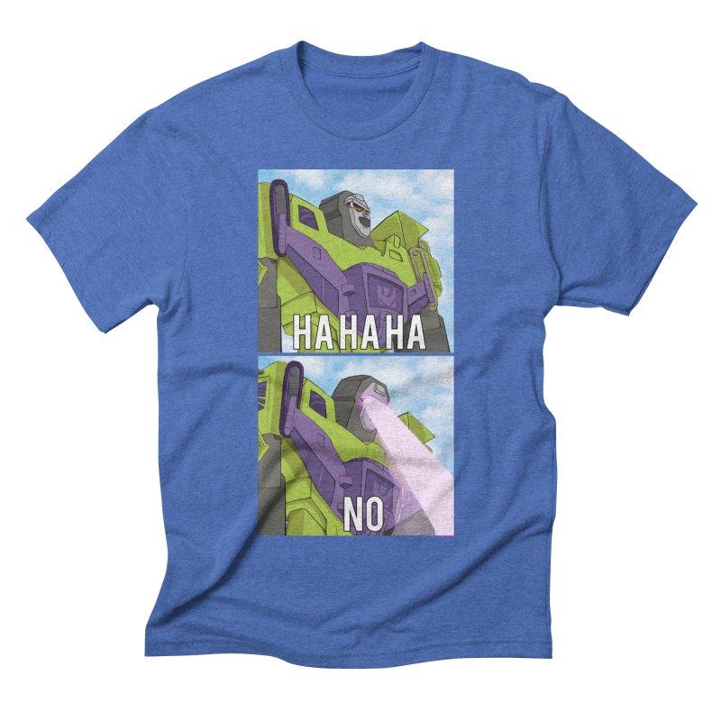 Devastating No Men's T-Shirt by Bots & Bits Realm of Merch
