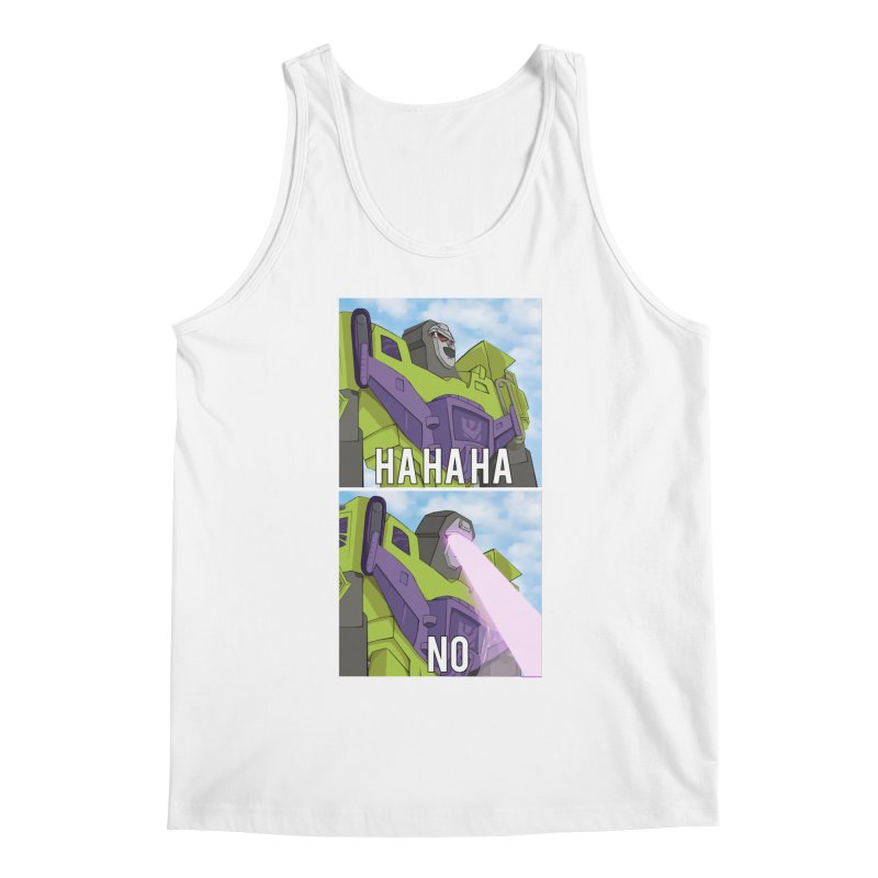 Devastating No Men's Tank by Bots & Bits Realm of Merch