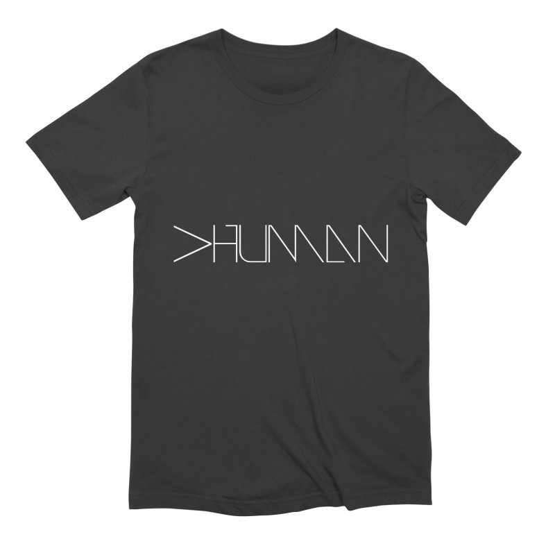 More than Human Inverted Men's T-Shirt by Bots & Bits Realm of Merch
