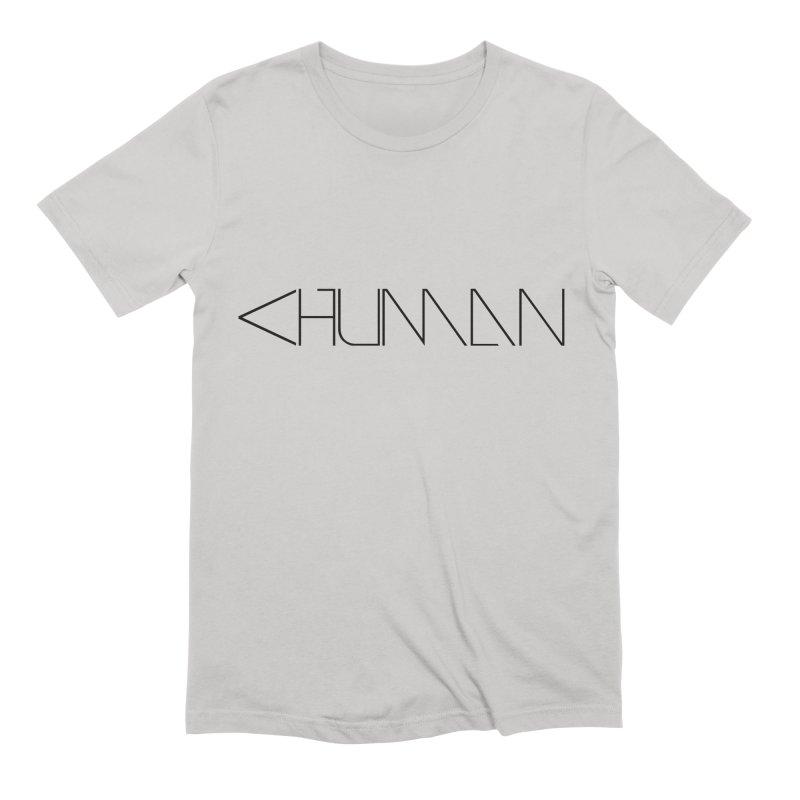 Less than Human Men's T-Shirt by Bots & Bits Realm of Merch