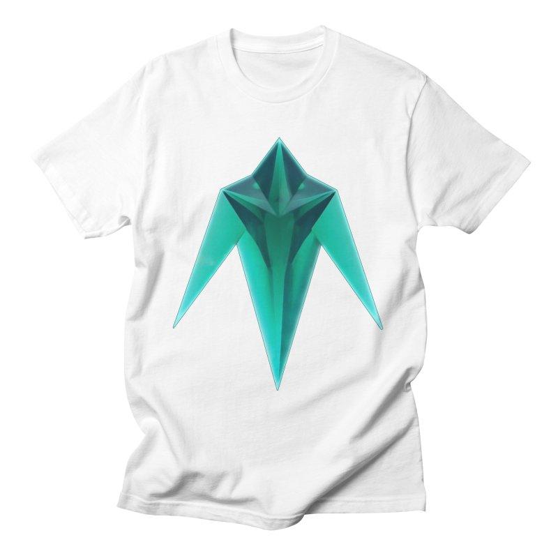 Tekka Crystal Men's T-Shirt by Bots & Bits Realm of Merch
