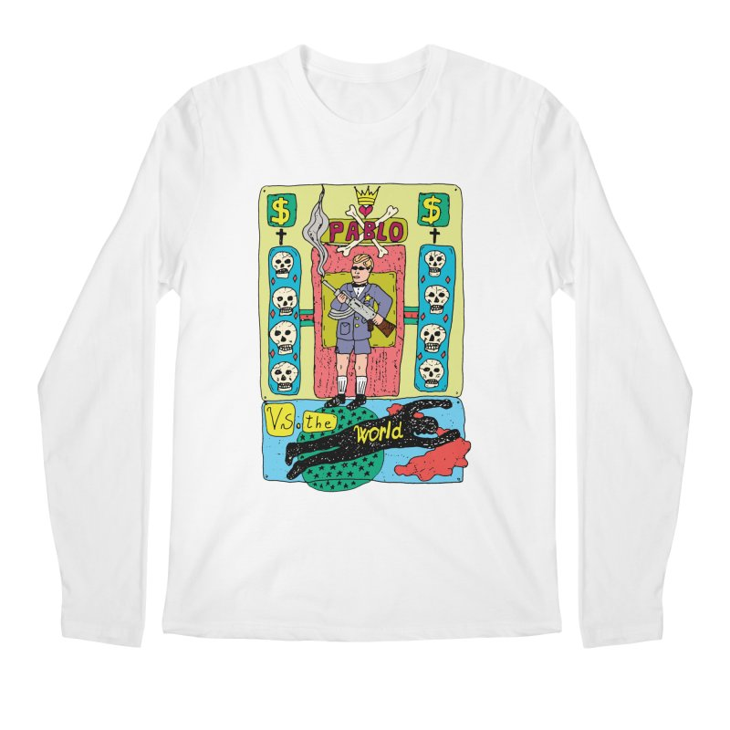 Pablo Vs. the world Men's Longsleeve T-Shirt by Bottone magliette