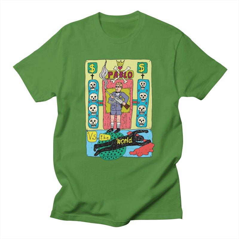 Pablo Vs. the world Men's T-shirt by Bottone magliette
