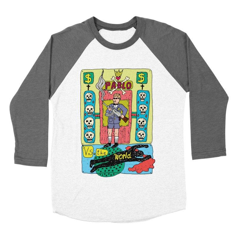 Pablo Vs. the world Men's Baseball Triblend T-Shirt by Bottone magliette