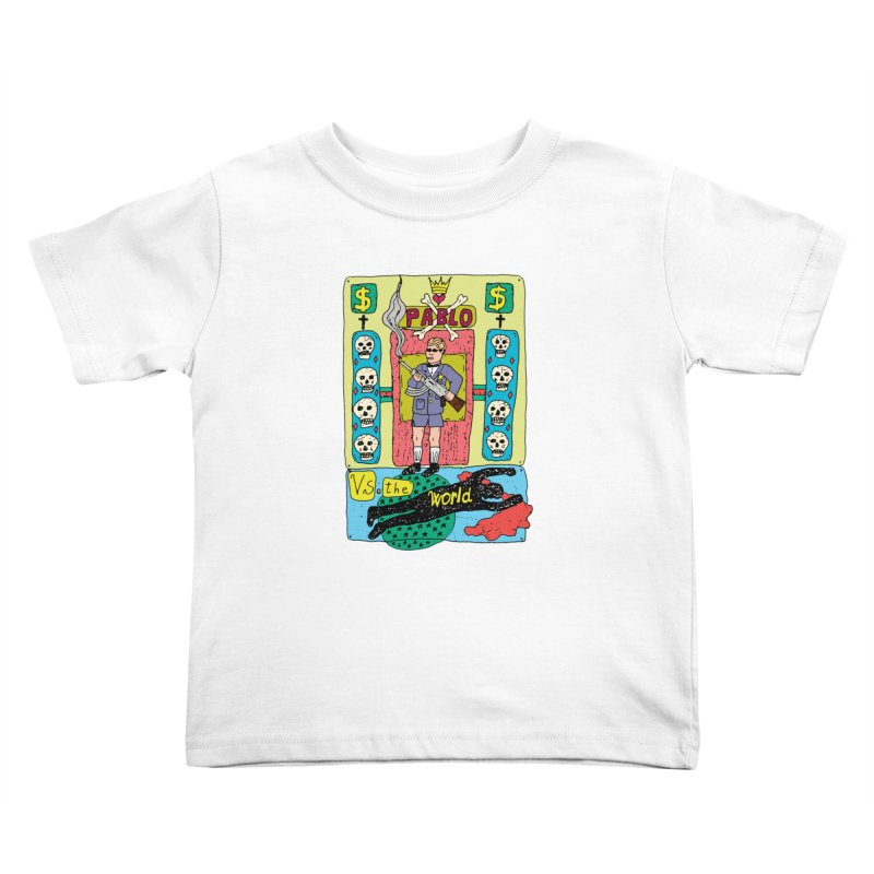 Pablo Vs. the world Kids Toddler T-Shirt by Bottone magliette