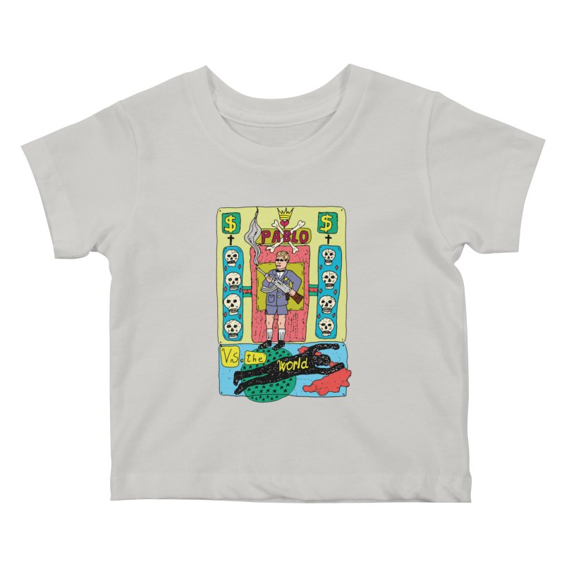 Pablo Vs. the world Kids Baby T-Shirt by Bottone magliette