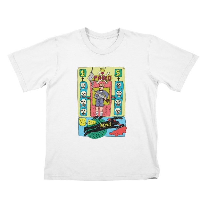 Pablo Vs. the world Kids T-Shirt by Bottone magliette