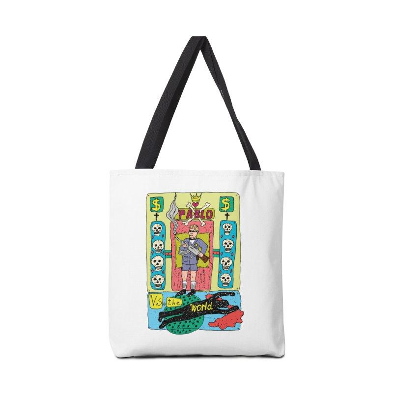 Pablo Vs. the world Accessories Bag by Bottone magliette