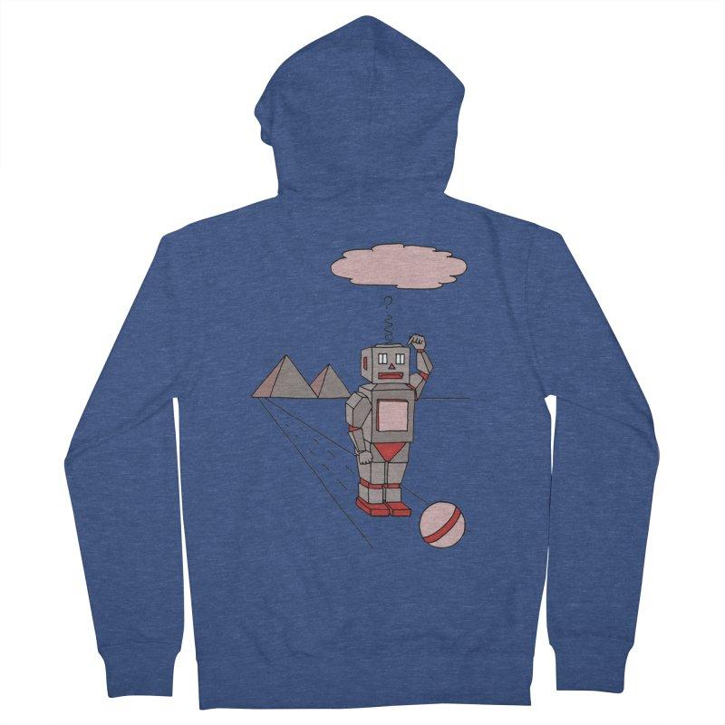 Robò Tino Men's Zip-Up Hoody by Bottone magliette