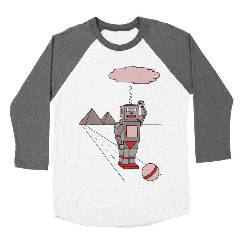 Robò Tino Women's Baseball Triblend T-Shirt by Bottone magliette