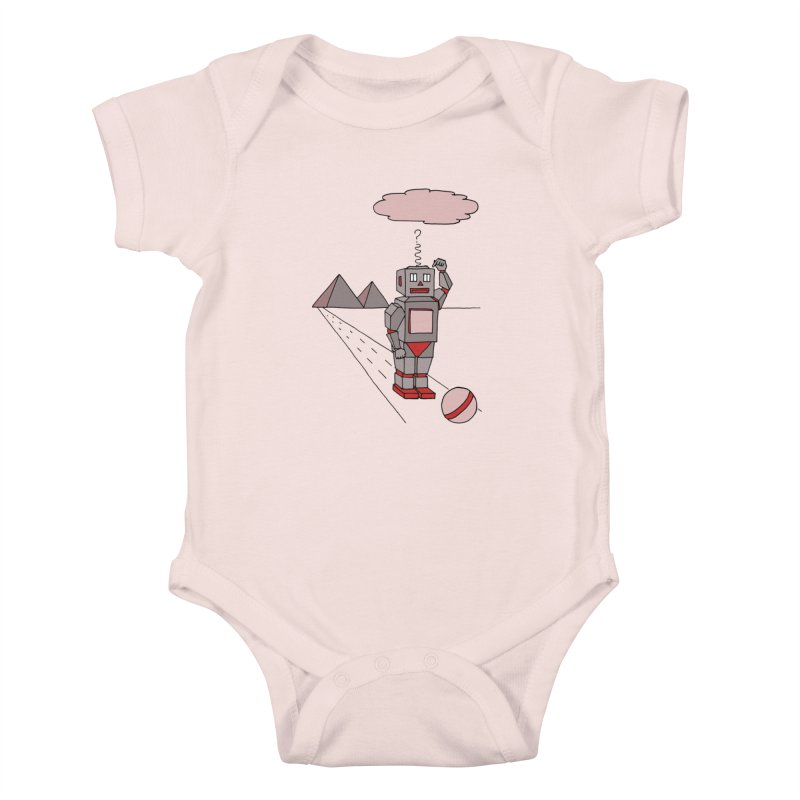 Robò Tino Kids Baby Bodysuit by Bottone magliette