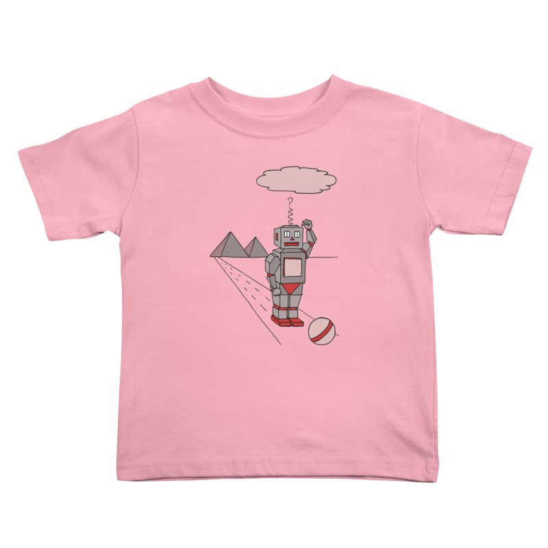 Robò Tino Kids Toddler T-Shirt by Bottone magliette