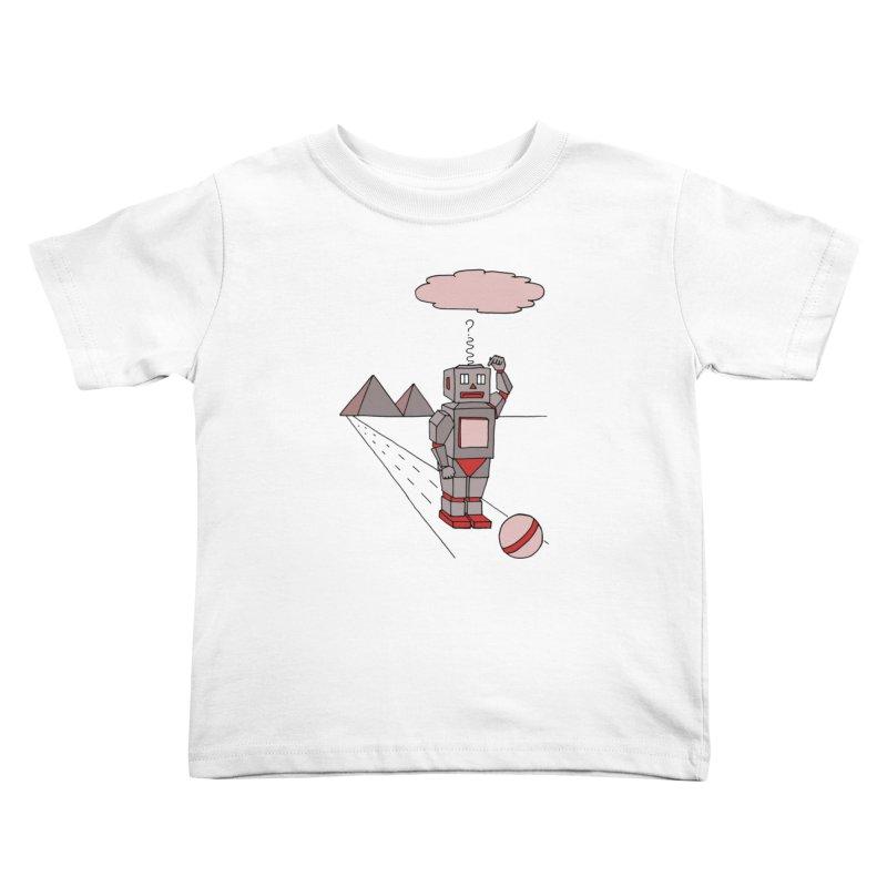 Robò Tino Kids Toddler T-Shirt by Bottone magliette