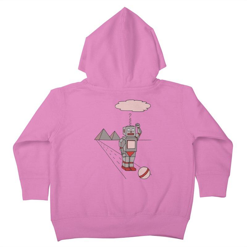 Robò Tino Kids Toddler Zip-Up Hoody by Bottone magliette