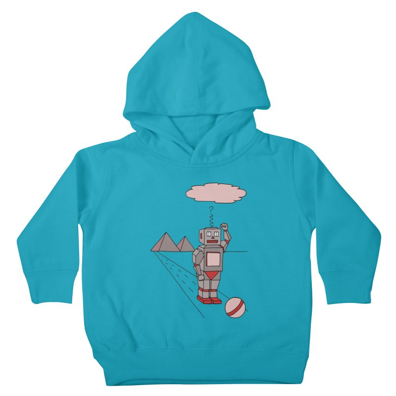 Robò Tino Kids Toddler Pullover Hoody by Bottone magliette