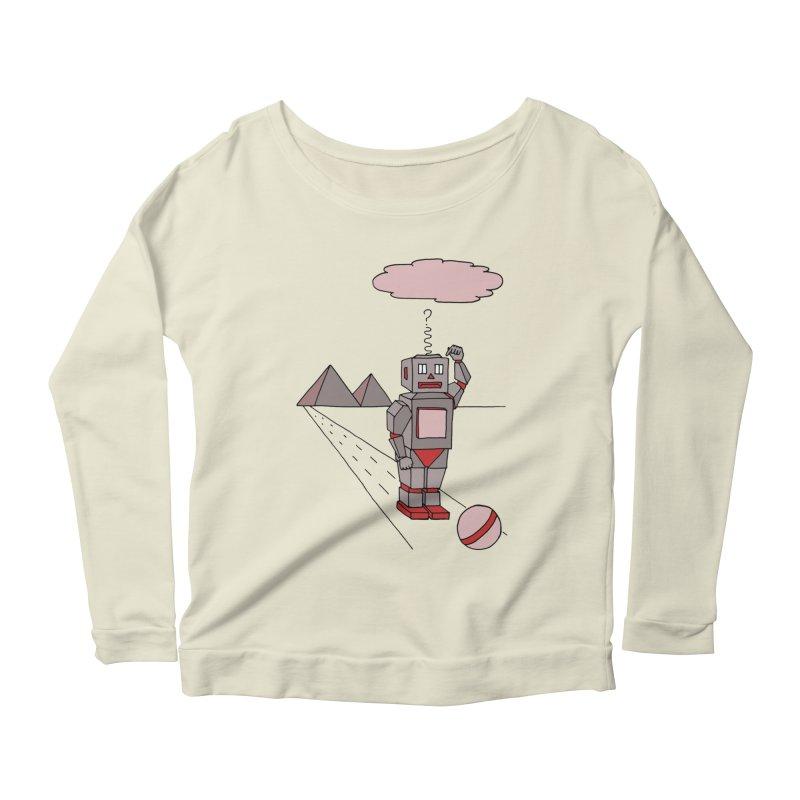 Robò Tino Women's Longsleeve Scoopneck  by Bottone magliette
