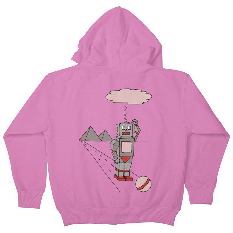 Robò Tino Kids Zip-Up Hoody by Bottone magliette
