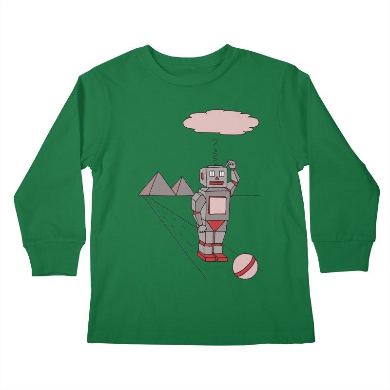 Robò Tino Kids Longsleeve T-Shirt by Bottone magliette