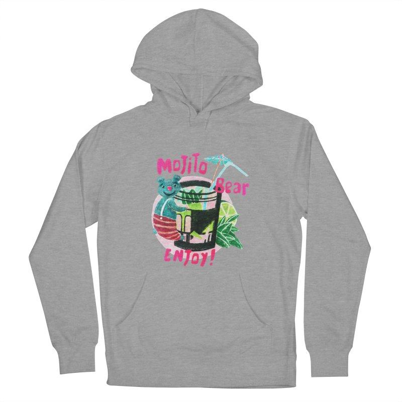 Mojito bear Women's Pullover Hoody by Bottone magliette