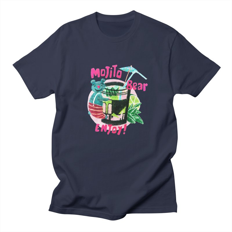 Mojito bear Men's Regular T-Shirt by Bottone magliette