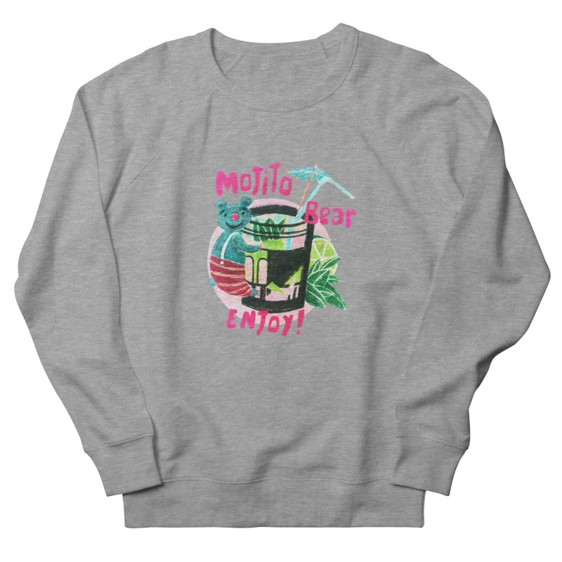 Mojito bear Women's Sweatshirt by Bottone magliette