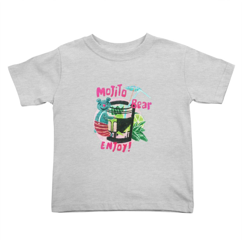 Mojito bear Kids Toddler T-Shirt by Bottone magliette