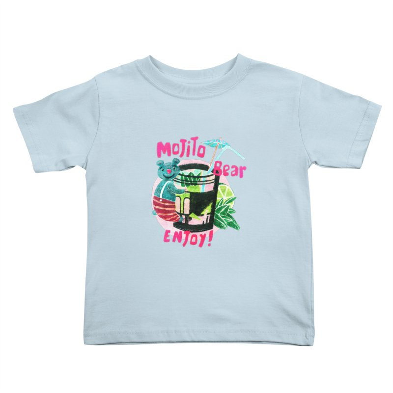 Mojito bear Kids Toddler T-Shirt by Bottone magliette