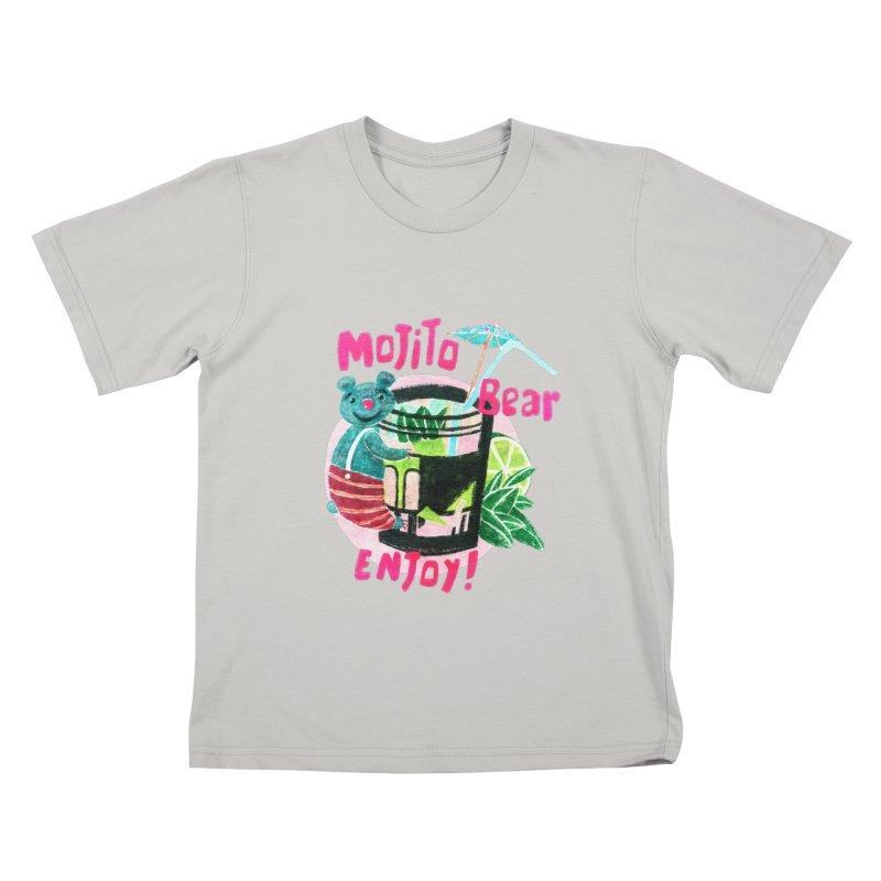 Mojito bear Kids T-Shirt by Bottone magliette