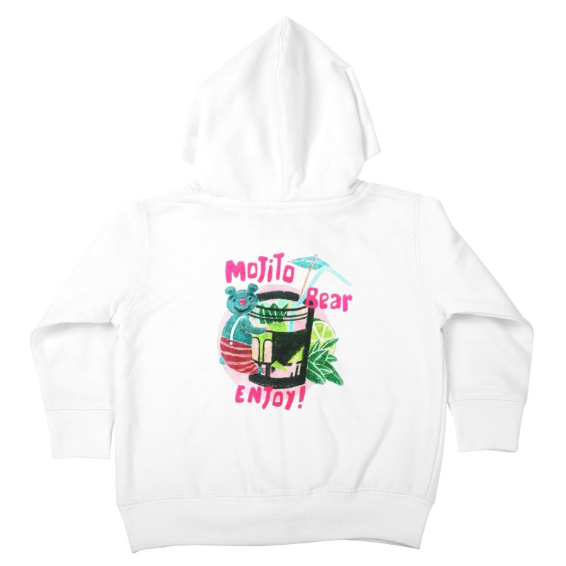 Mojito bear Kids Toddler Zip-Up Hoody by Bottone magliette