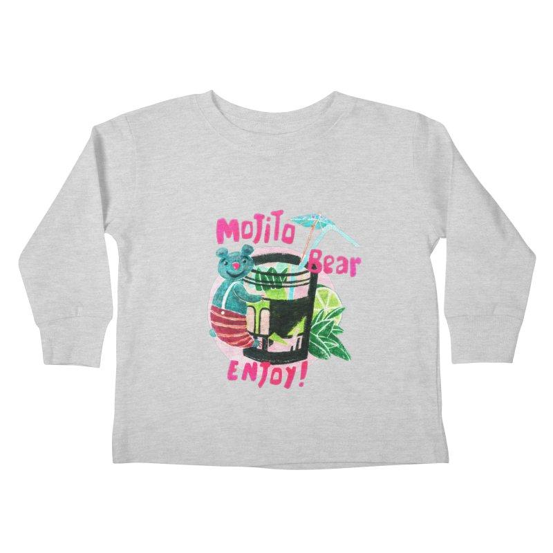 Mojito bear Kids Toddler Longsleeve T-Shirt by Bottone magliette