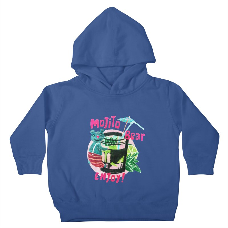Mojito bear Kids Toddler Pullover Hoody by Bottone magliette