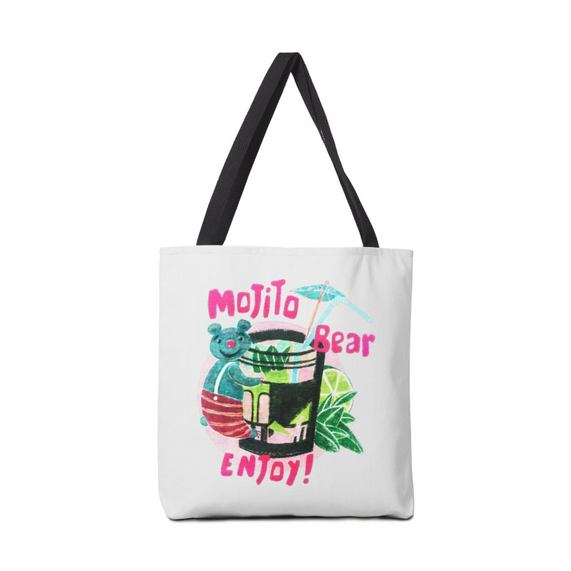 Mojito bear Accessories Bag by Bottone magliette