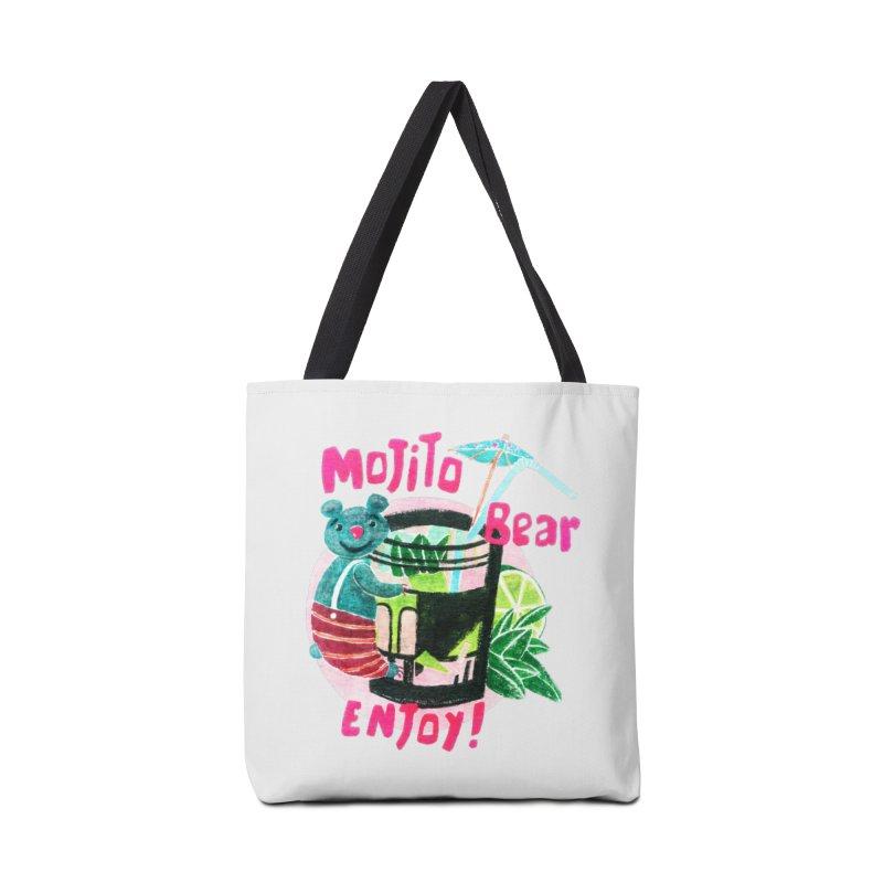 Mojito bear Accessories Bag by Bottone magliette