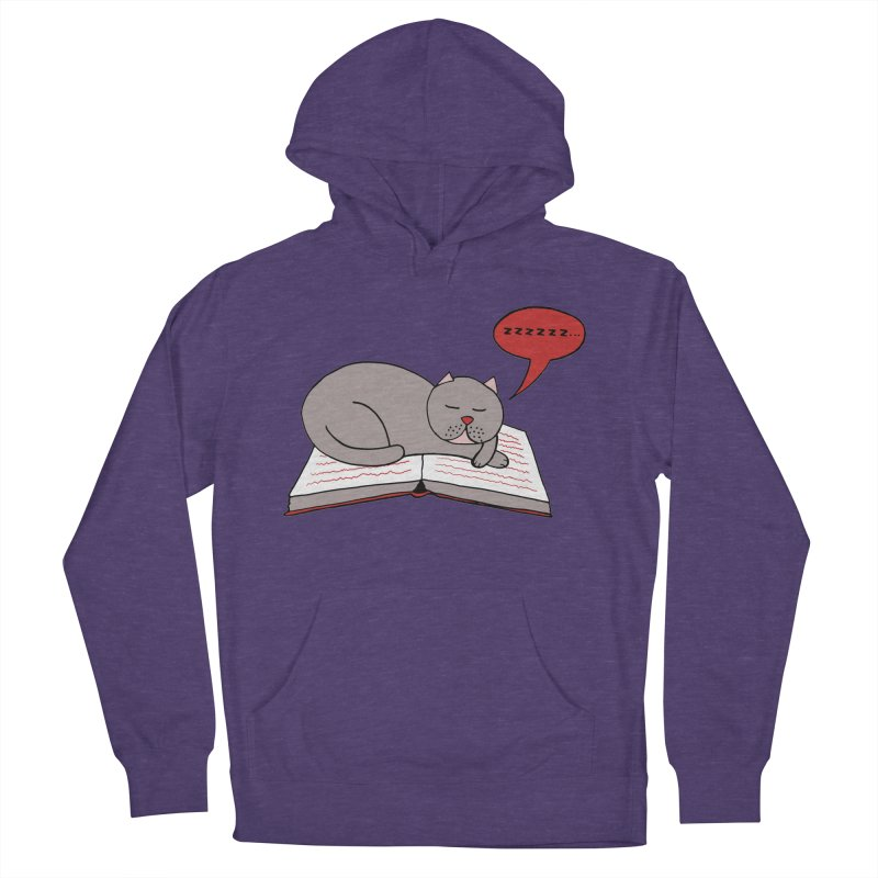 Malcolm the cat Women's Pullover Hoody by Bottone magliette