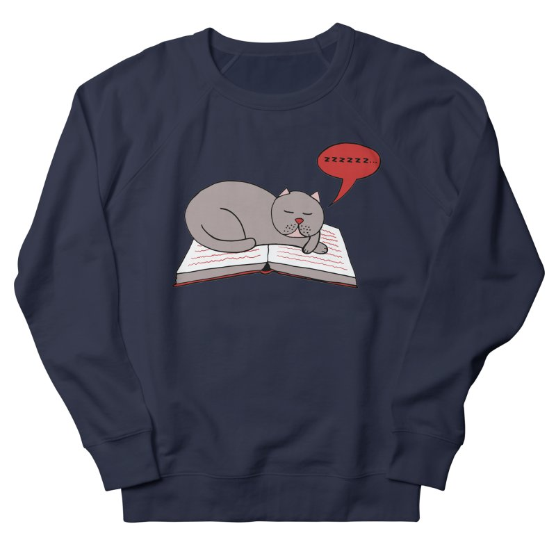 Malcolm the cat Women's French Terry Sweatshirt by Bottone magliette