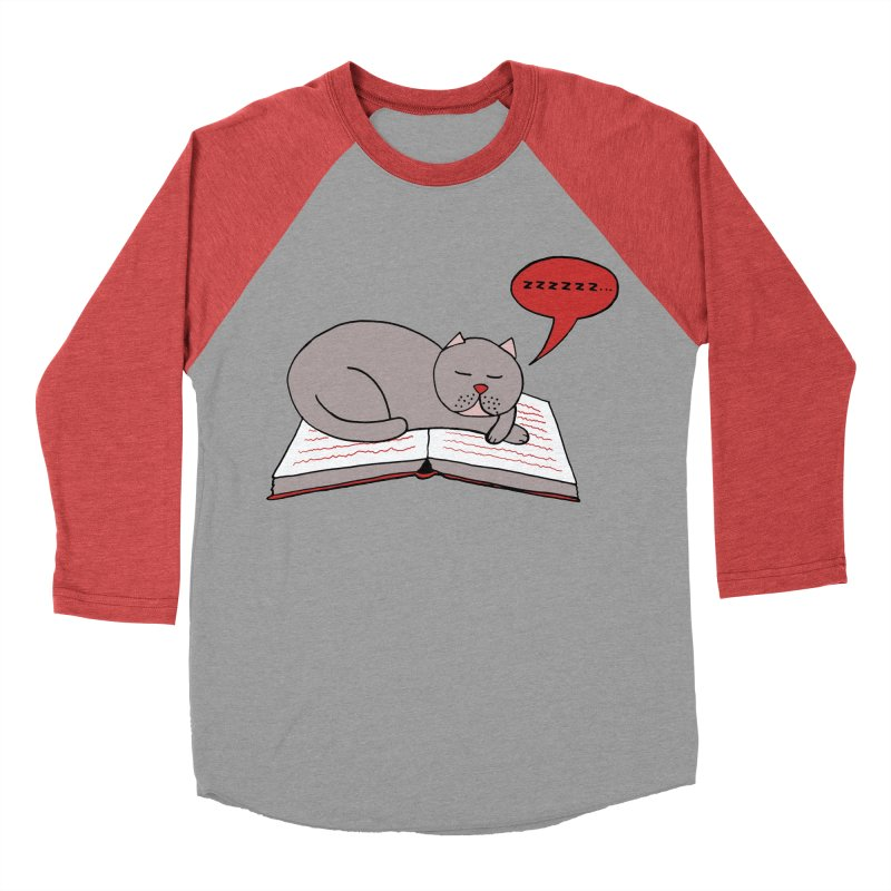 Malcolm the cat Women's Baseball Triblend Longsleeve T-Shirt by Bottone magliette