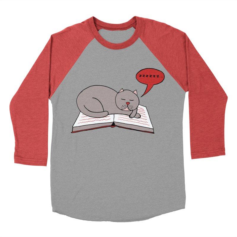 Malcolm the cat Men's Baseball Triblend T-Shirt by Bottone magliette