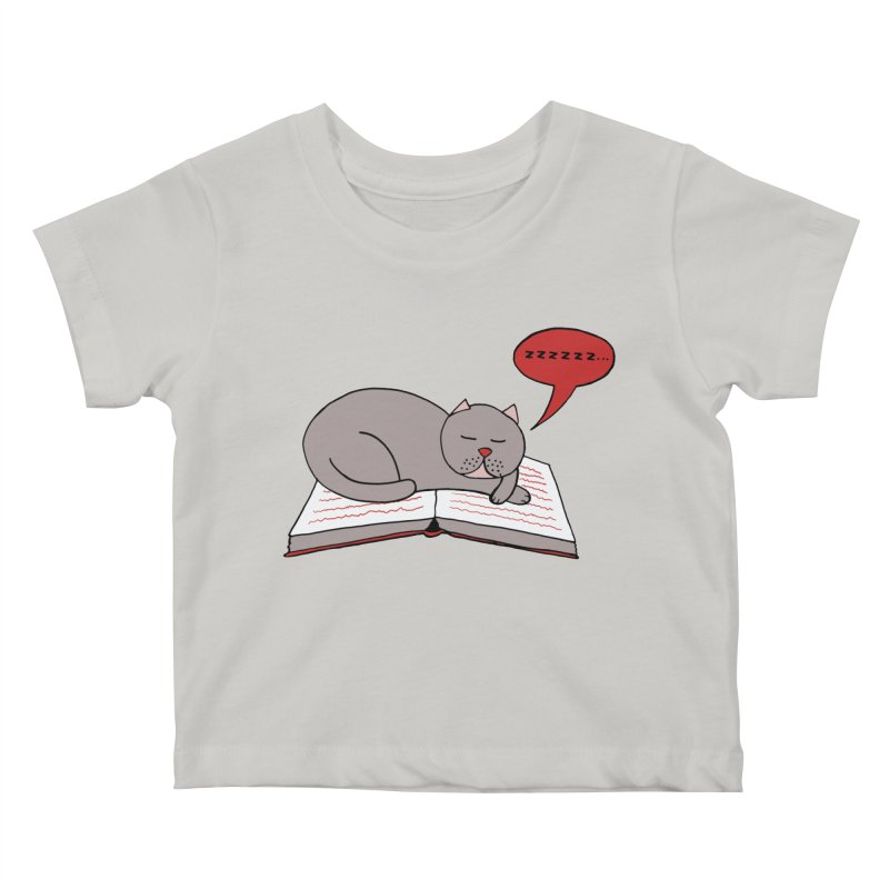 Malcolm the cat Kids Baby T-Shirt by Bottone magliette