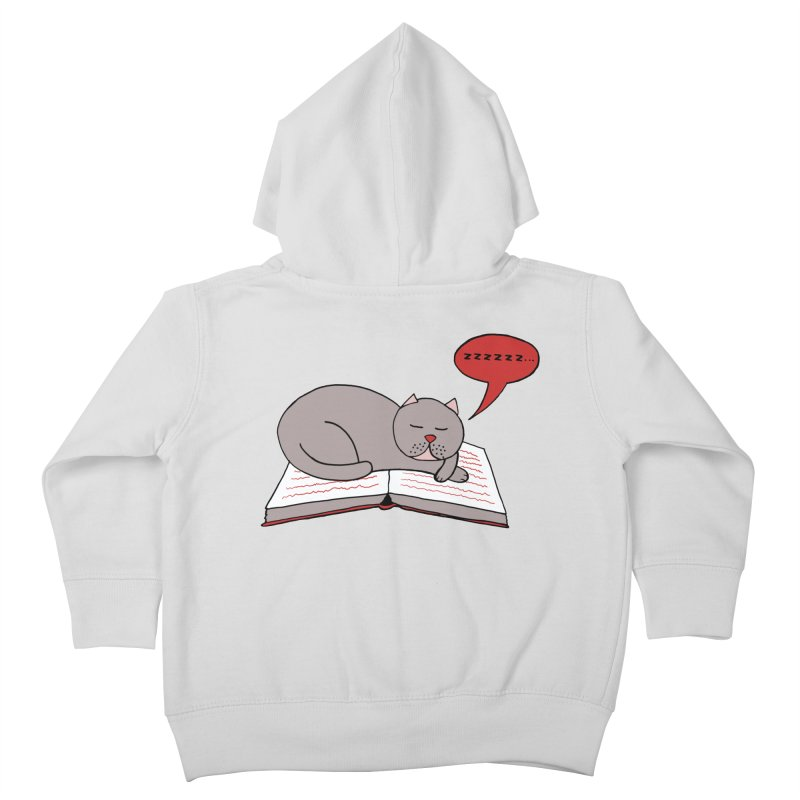 Malcolm the cat Kids Toddler Zip-Up Hoody by Bottone magliette
