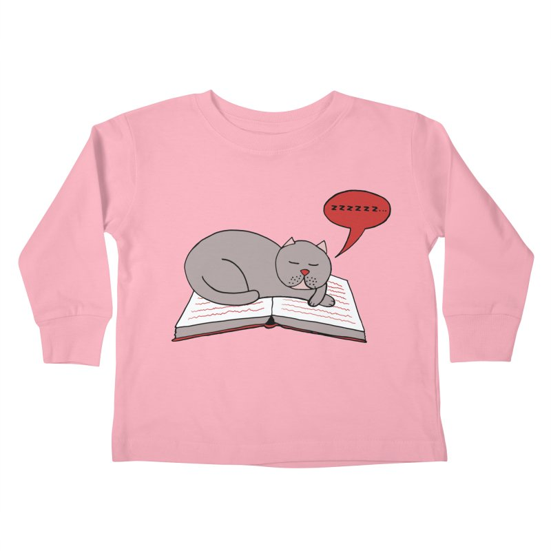 Malcolm the cat Kids Toddler Longsleeve T-Shirt by Bottone magliette