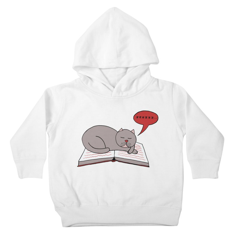 Malcolm the cat Kids Toddler Pullover Hoody by Bottone magliette