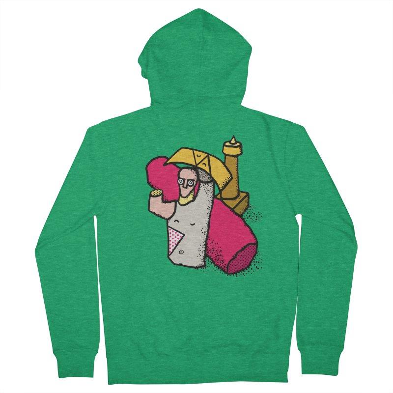 giant of mont'e prama Women's Zip-Up Hoody by Bottone magliette